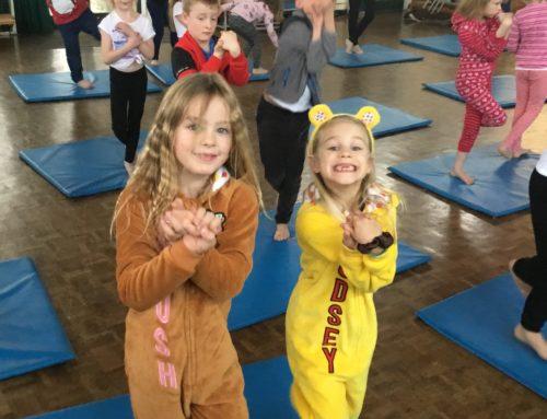 Children in Need Yoga!