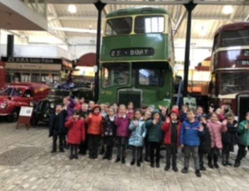 Beech Class Trip to Bury Transport Museum