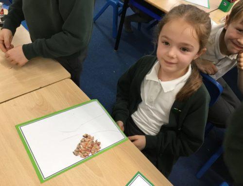 Making our Hazel Class Calendars!