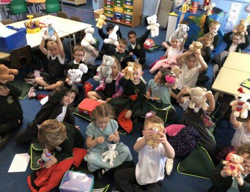 Beech Class Reading Teddies
