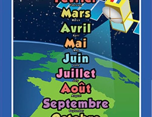 French – Les mois de l'annee!