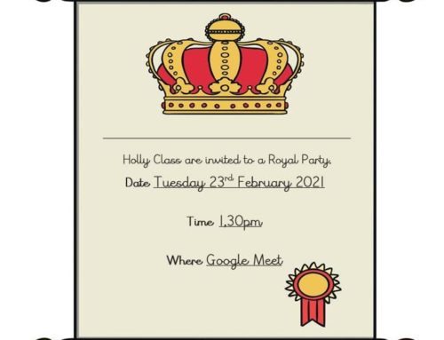 Holly Class Royal Party