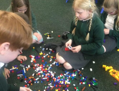 Our first Lego Club