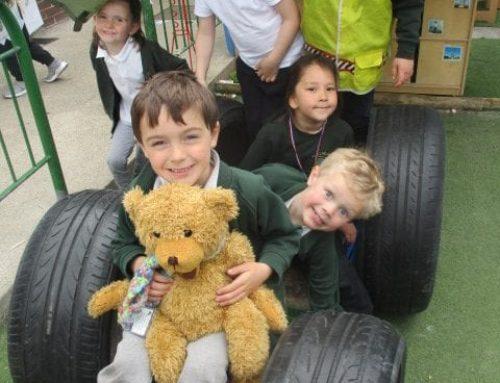 Eden Bear Visits Acorn Class