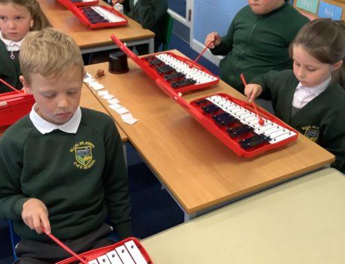 Glockenspiels in Holly Class