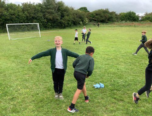 Hazel Class Football – Training for Wembely