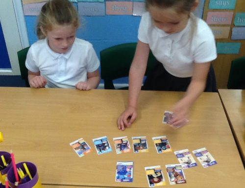 Ordering and comparing numbers in Holly Class